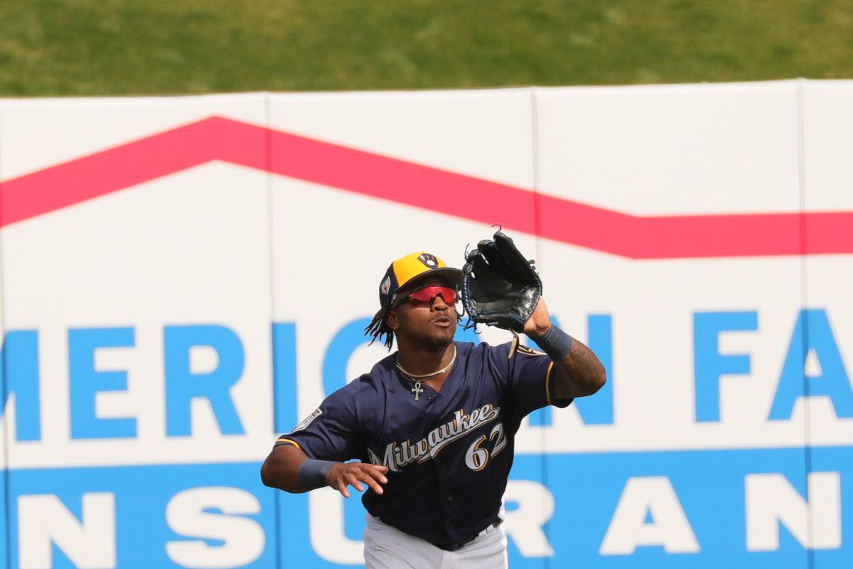 MLB: FEB 26 Spring Training - Padres at Brewers