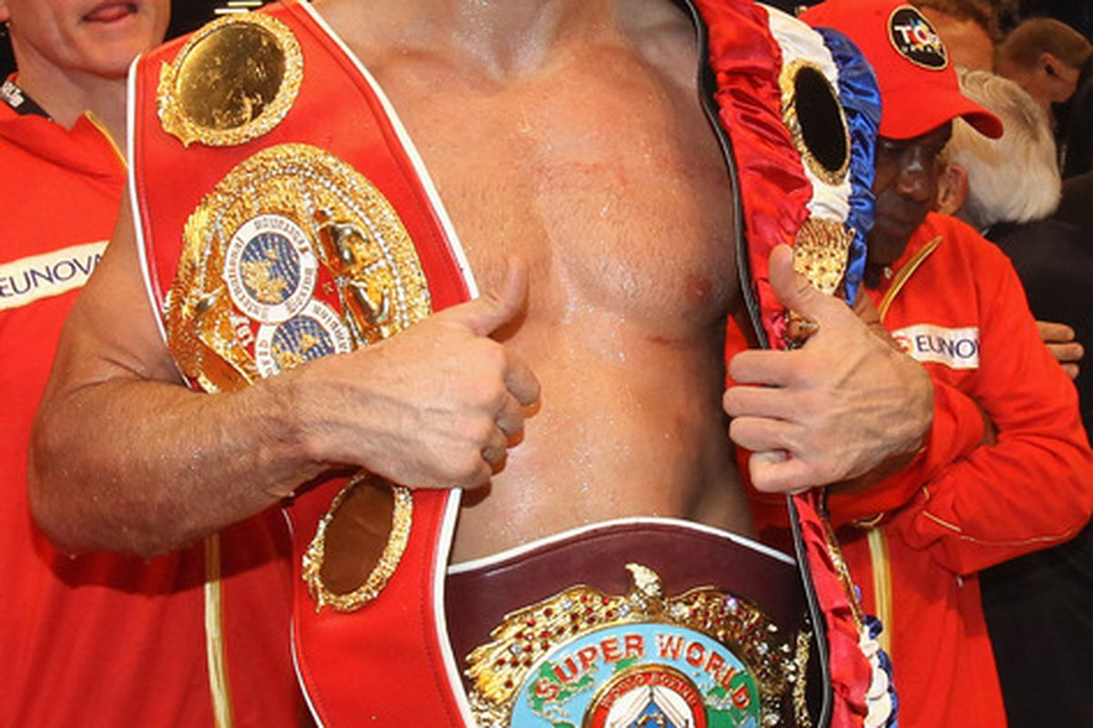 Wladimir Klitschko is aiming to fight again in 2011, but options may be limited. (Photo by Martin Rose/Bongarts/Getty Images)