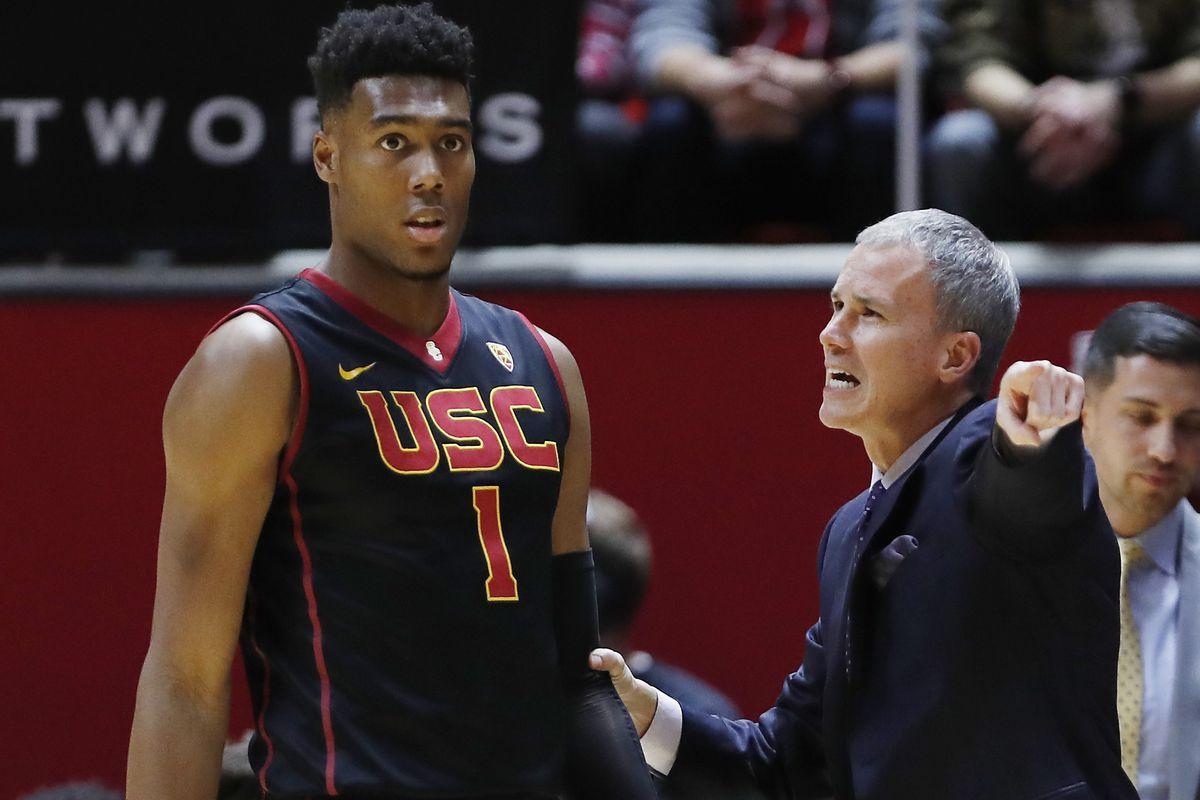 NCAA Basketball: Southern California at Utah