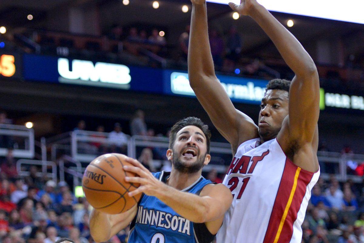 NBA: Preseason-Minnesota Timberwolves at Miami Heat