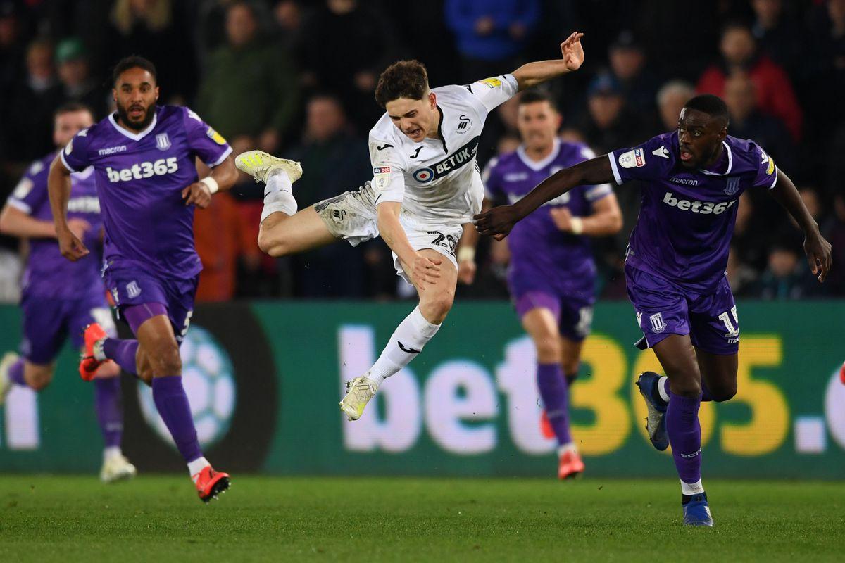 Swansea City v Stoke City - Sky Bet Championship