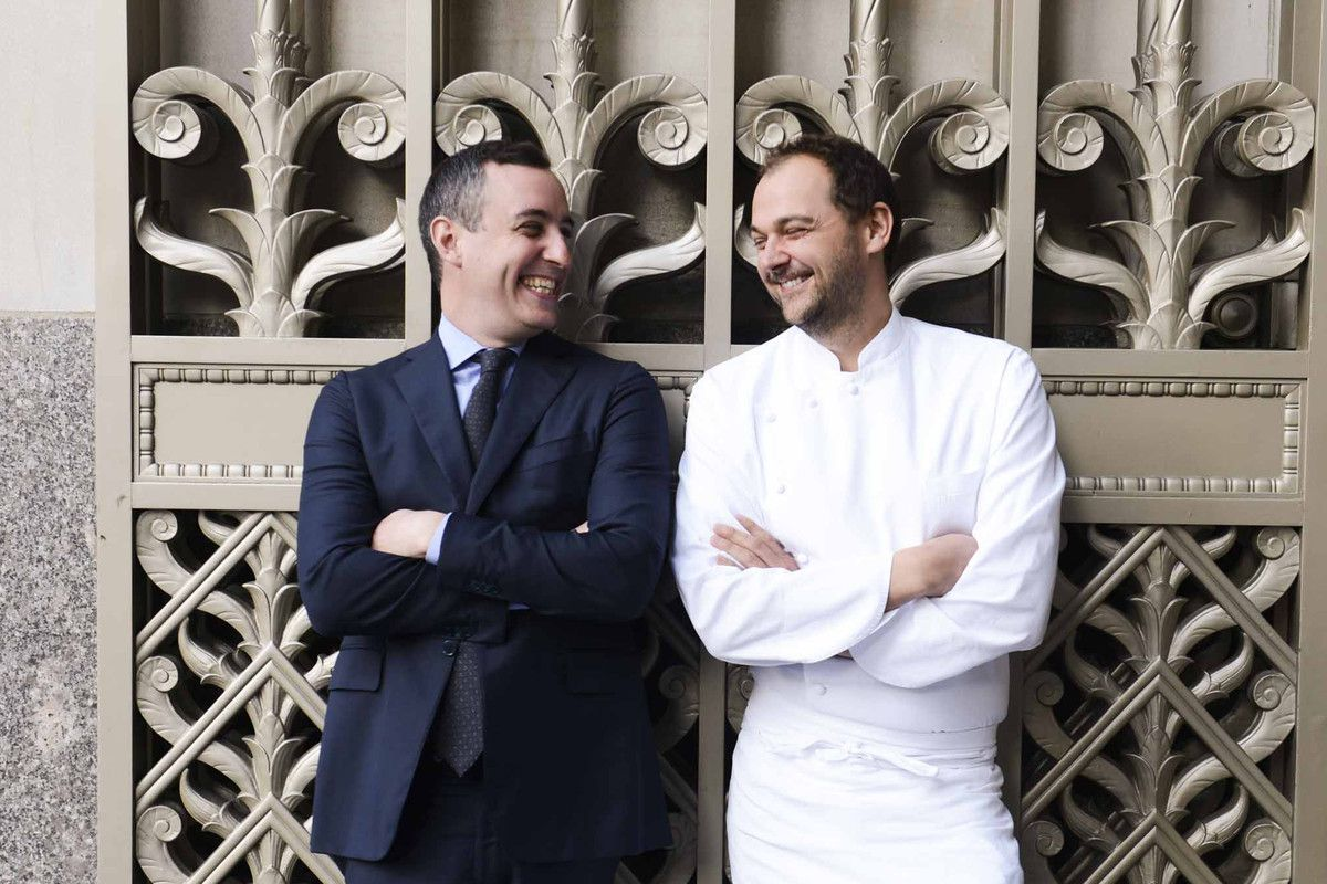 Eleven Madison Park's Daniel Humm and Will Guidara will bring their three Michelin star New York restaurant to London at Claridge's Hotel in Mayfair