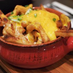 """Curry Cheese Fries from Banter by <a href=""""http://www.flickr.com/photos/chunso/8643690679/in/pool-29939462@N00/"""">Chun's Pictures</a>"""