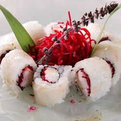 King Crab and Fluke Roll