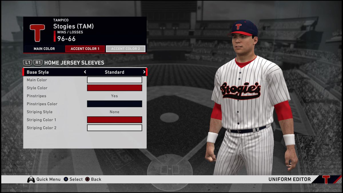My favorite sports video game? Creating uniforms in MLB ...