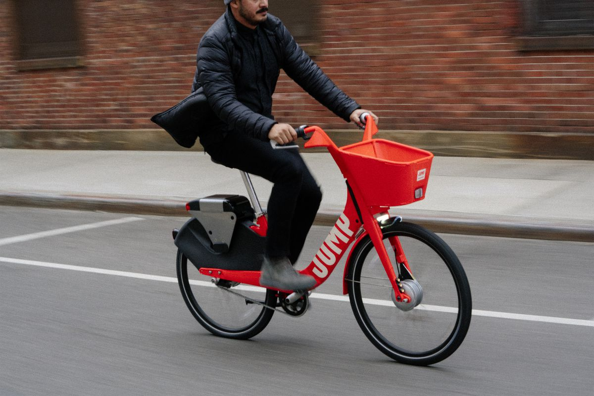Uber is jumping on the dockless bike-share bandwagon