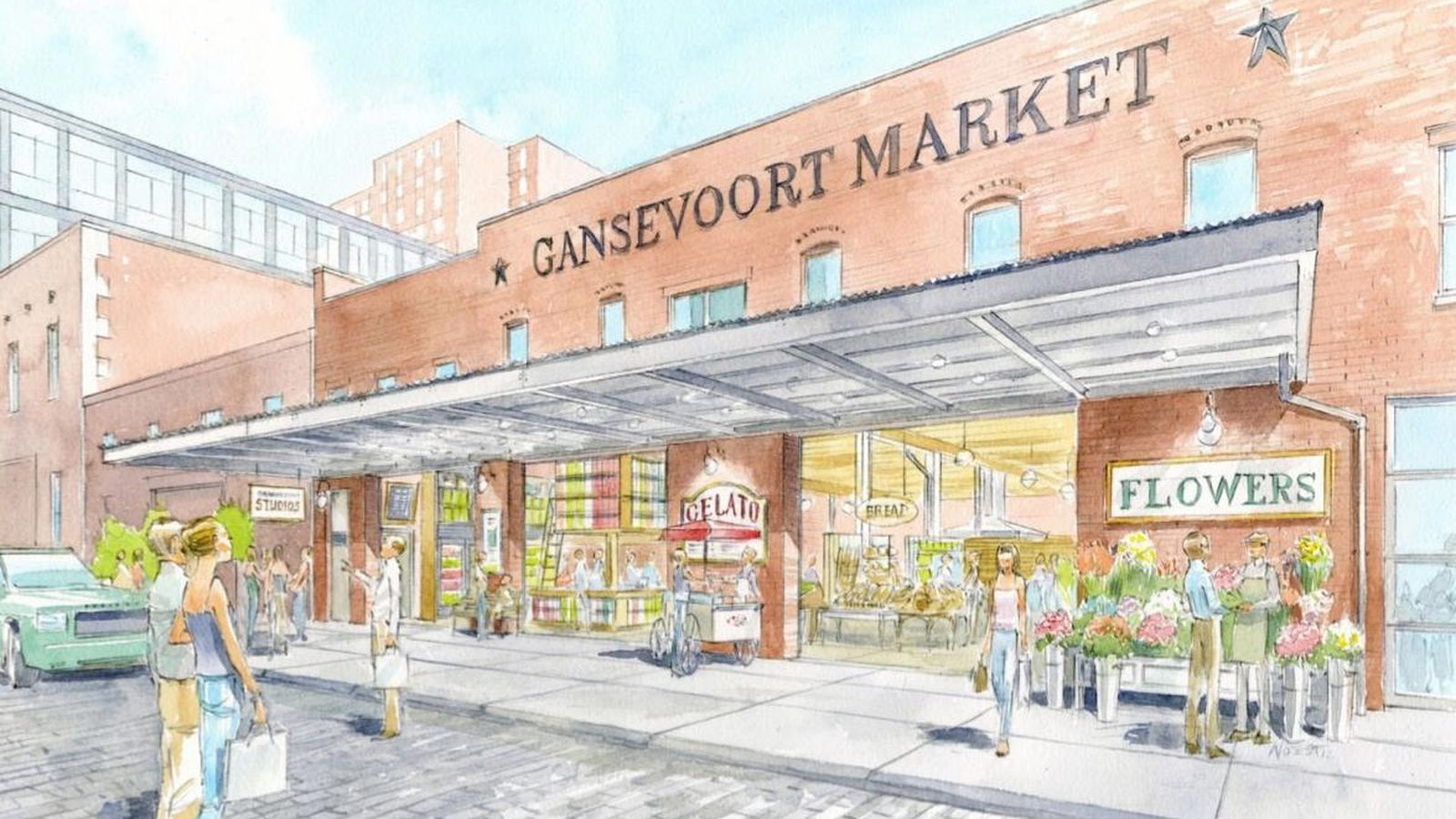 Gansevoort Market Plan gansevoort market didn't quite manage to get off the ground today