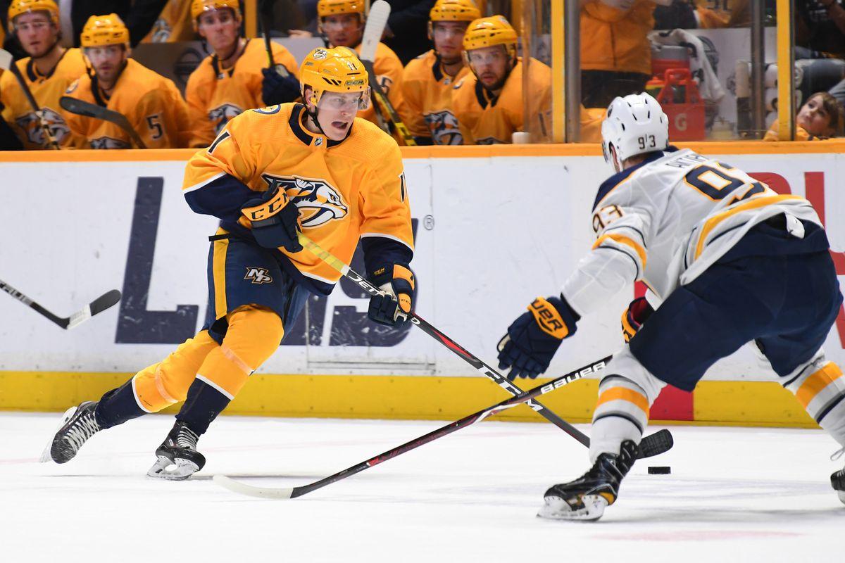NHL: Buffalo Sabres at Nashville Predators