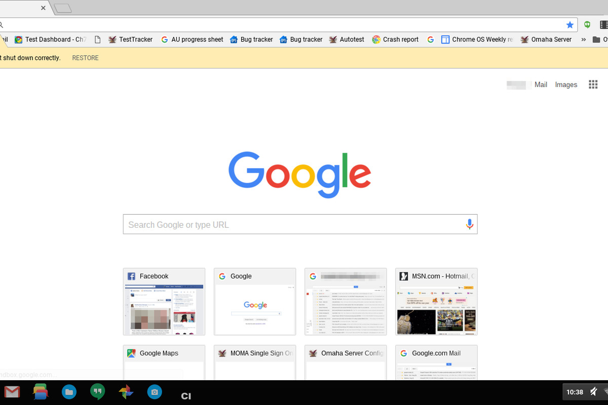 screenshots offer first look at google chrome updated for material