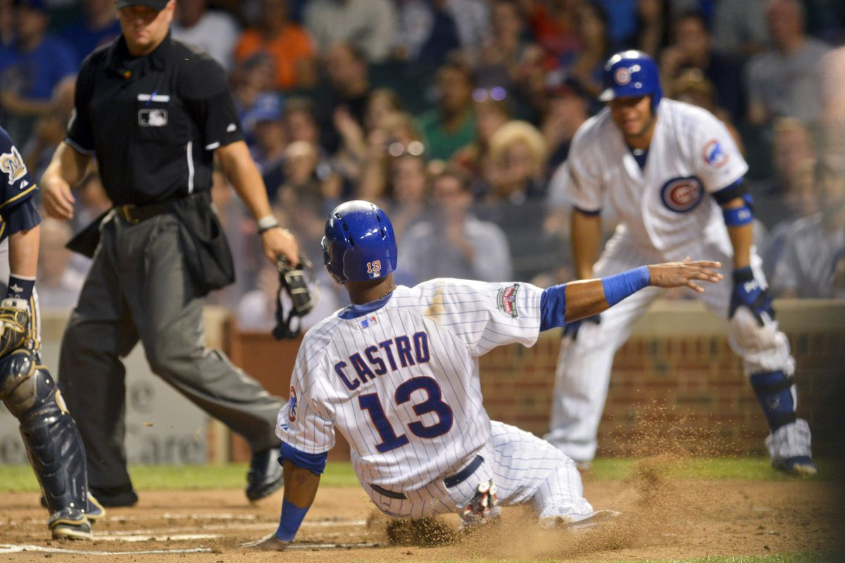 """Castro: """"The Cubs are revolting! The Cubs are revolting!"""""""