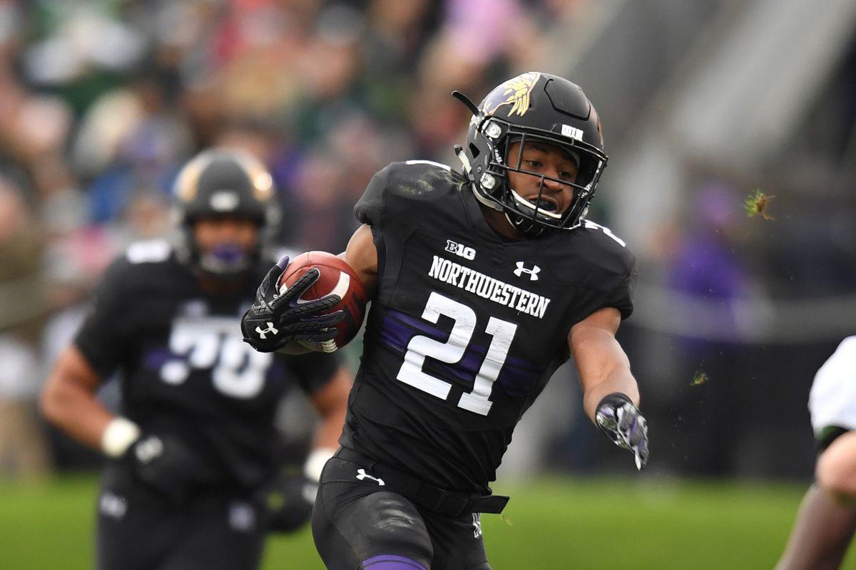 NCAA Football: Michigan State at Northwestern
