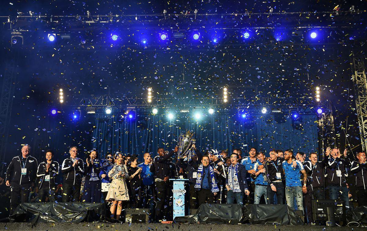 Leicester City Barclays Premier League Winners Bus Parade
