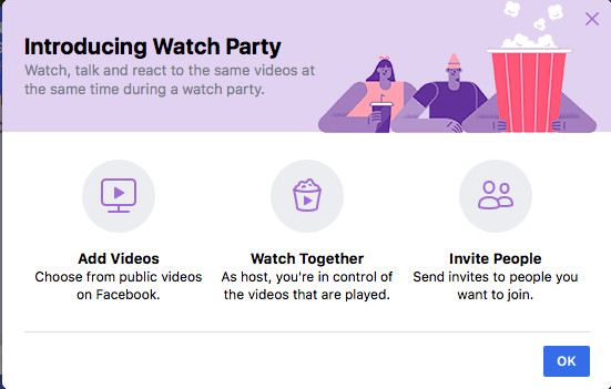 Facebook launches the group watching feature Netflix needs