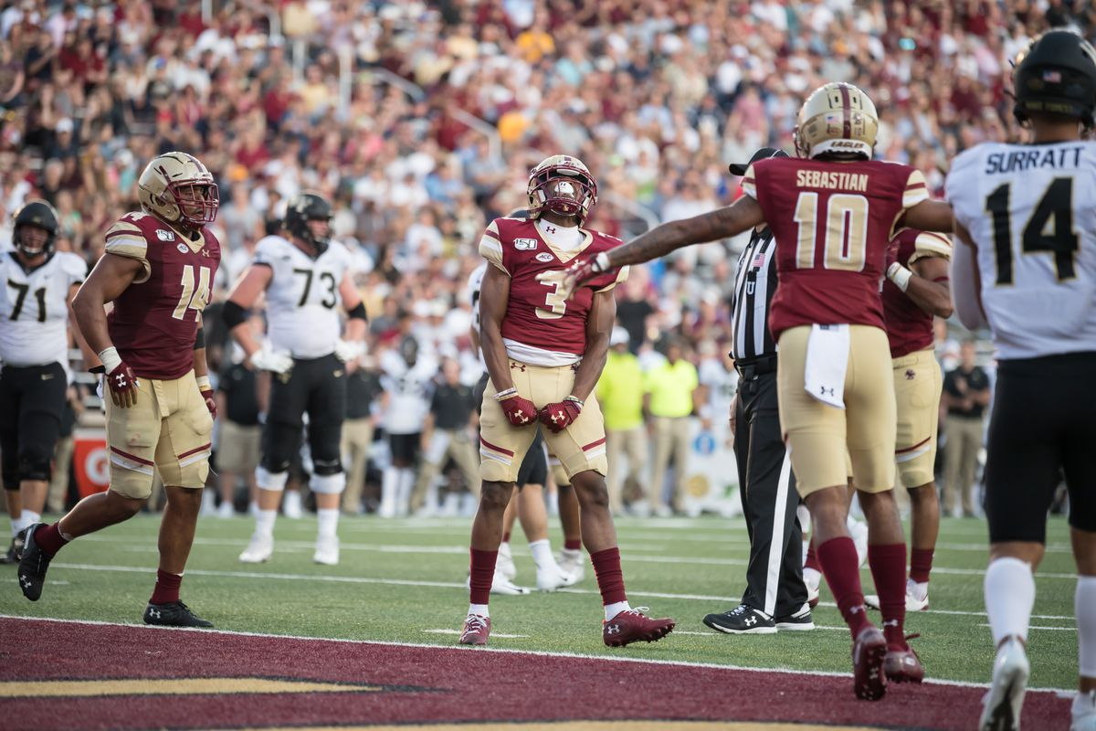 NCAA Football: Wake Forest at Boston College