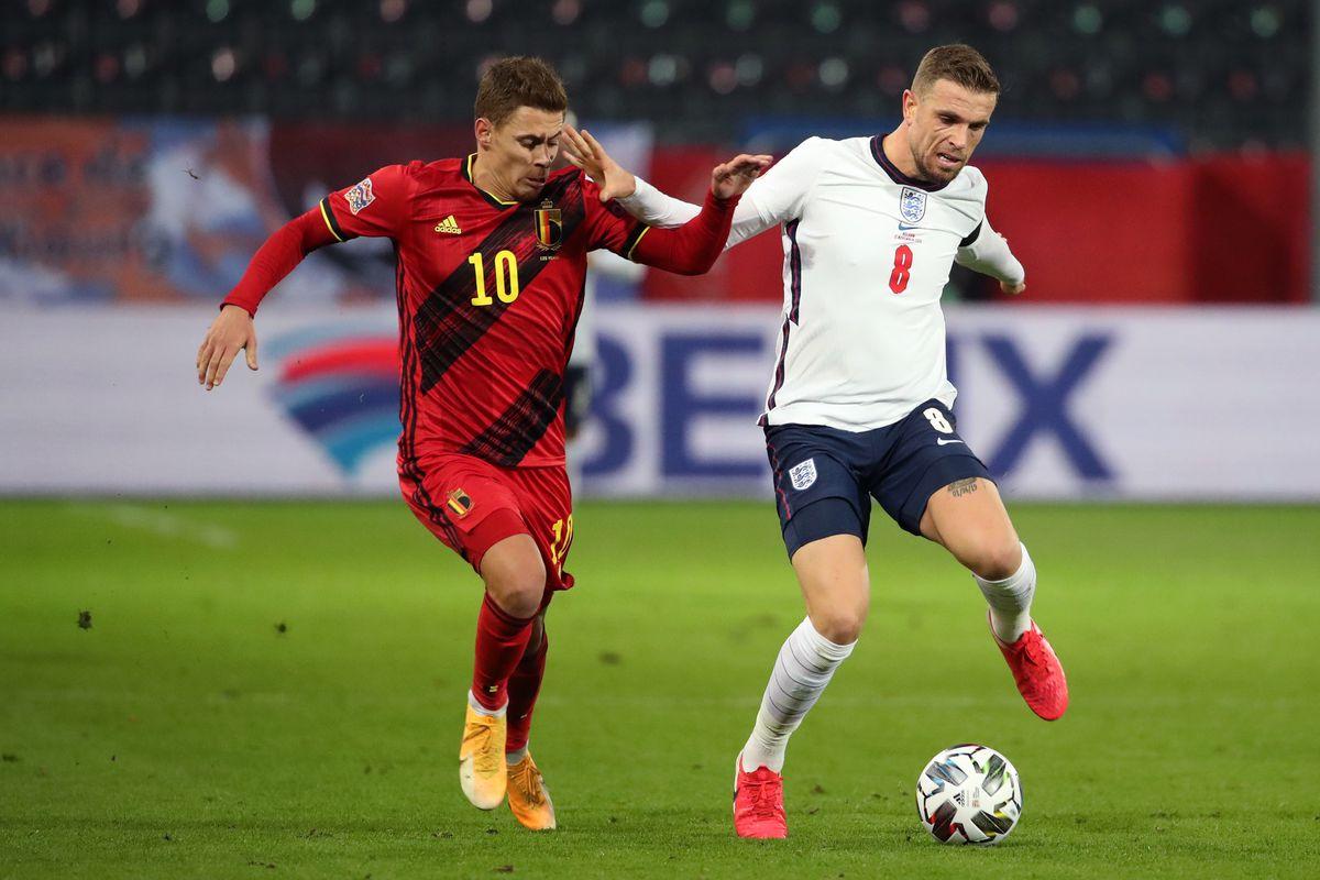 201115 Belgium vs England - UEFA Nations League