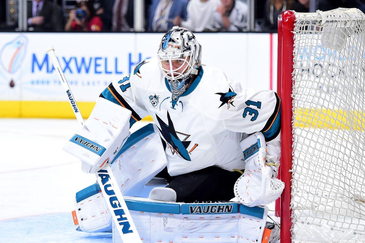 San Jose Sharks v Los Angeles Kings - Game One