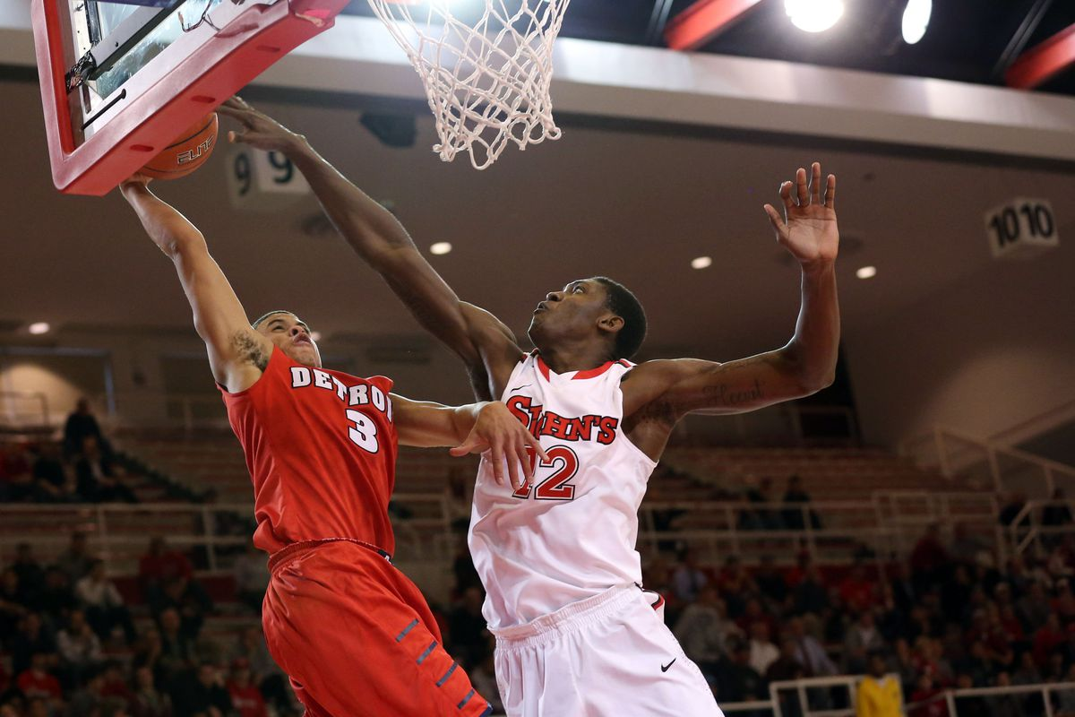 St. John's vs. Detroit Mercy: Red Storm open season with ...