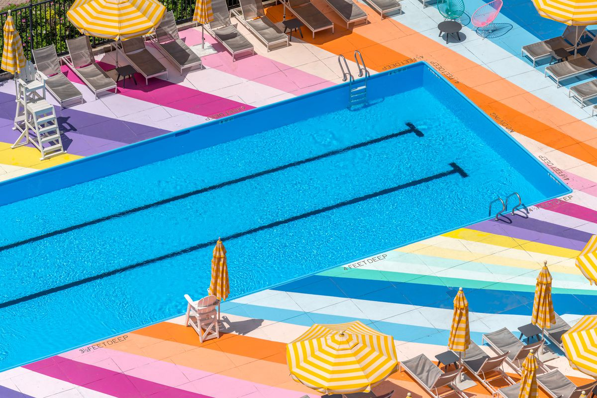 Manhattan_Park_Pool_6___FAVORITE.0 Roosevelt Island's whimsical outdoor pool returns for summer