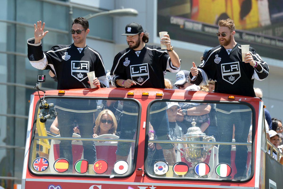 """We like to party"" - Vengaboys um I mean hockey players"