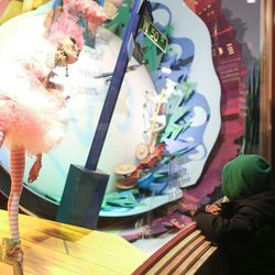 """The <b>Macy's</b> <a href=""""http://ny.racked.com/archives/2012/11/19/hello_newman_macys_holiday_windows_were_launched_by_wayne_knight.php"""">""""Magic of Christmas""""</a> windows"""