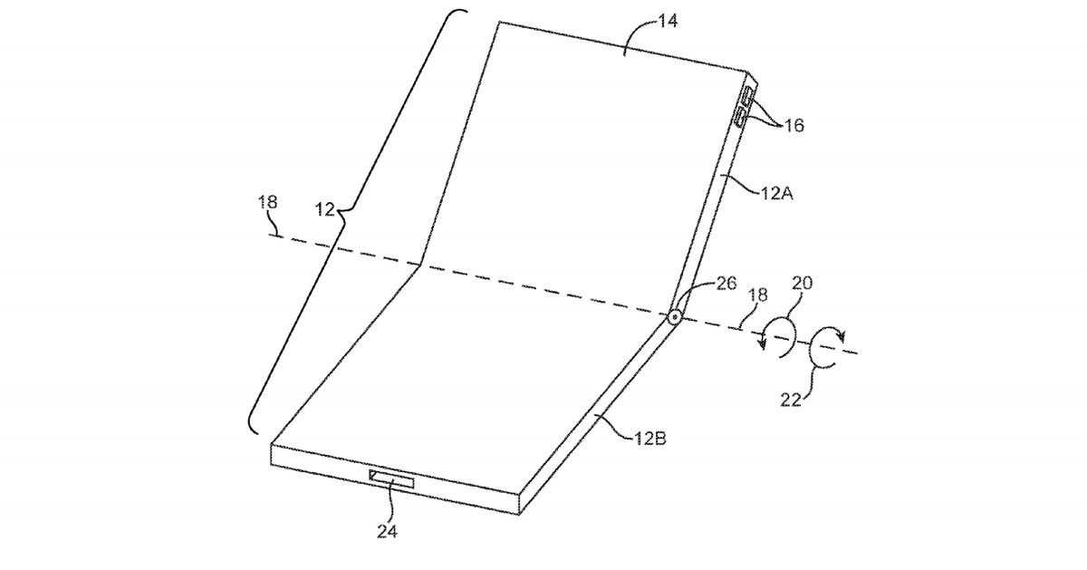 Apple Draws up a Blueprint for the Foldable iPhone