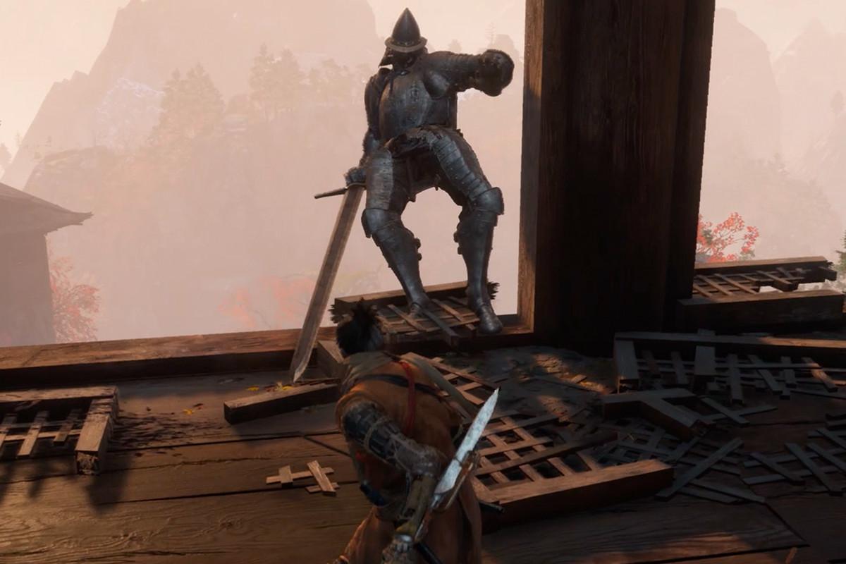 Sekiro Armored Warrior boss guide