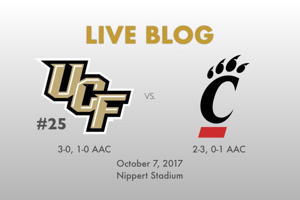 UCF at Cincinnati - October 7, 2017