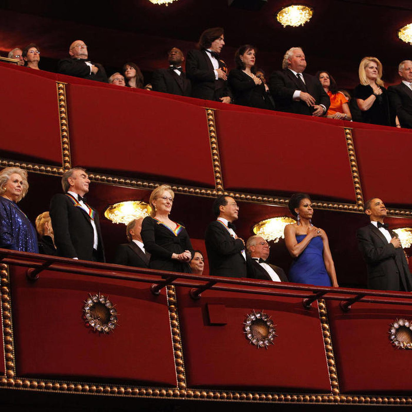 Ma, Diamond, Streep receive Kennedy Center Honors - Deseret News