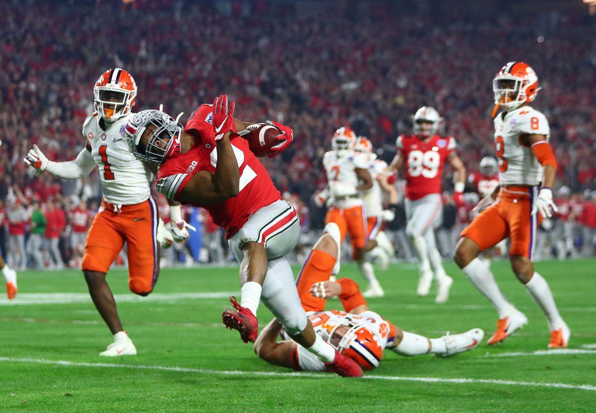 NCAA Football: College Football Playoff Semifinal-Ohio State vs Clemson