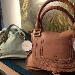 """""""I love a <strong>subdued color palette</strong> this season. I was so bored of bold bright colors for spring. When I saw these Chloé bags at <a href=""""http://www1.bloomingdales.com/"""">Bloomingdale's</a> I knew we had to use them. Try a subtle pink this spr"""