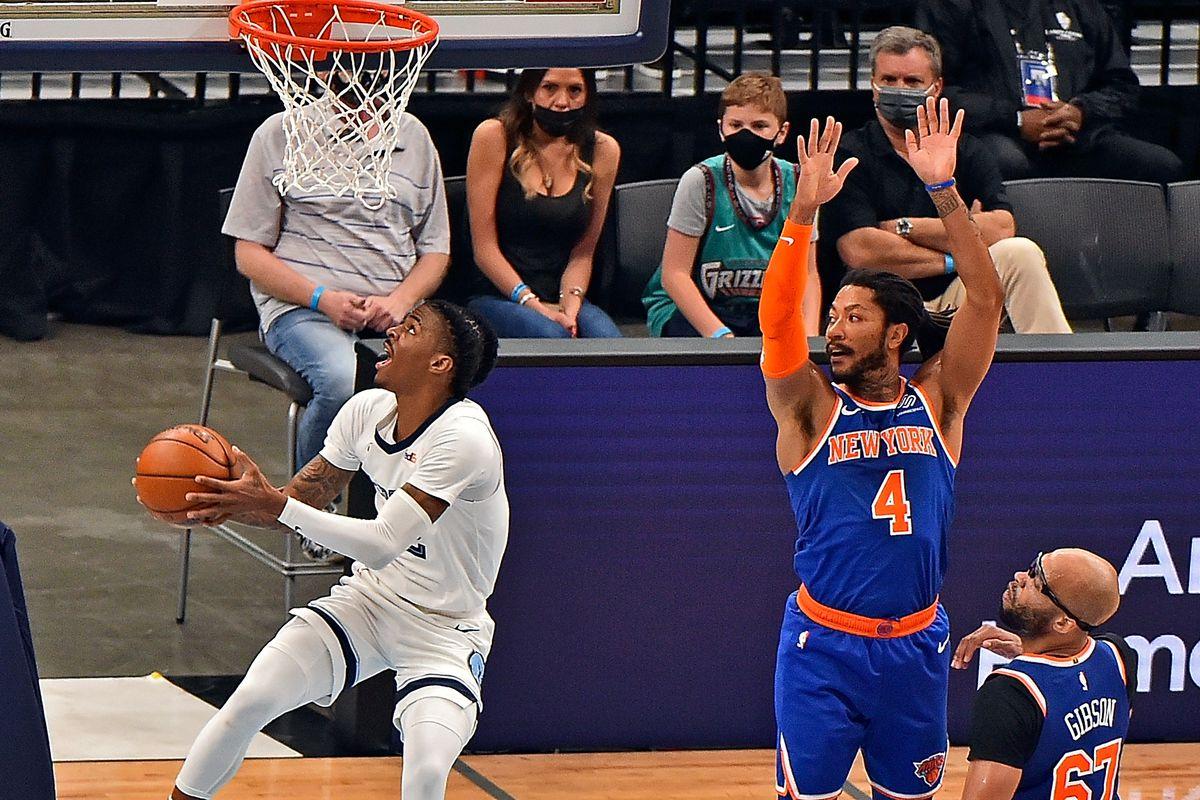 New York Knicks v Memphis Grizzlies