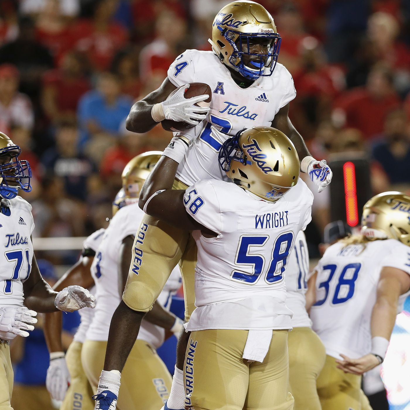 buy popular 378fc 8f11d 12 Up, 12 Down: Tulsa Golden Hurricane - The Daily Stampede
