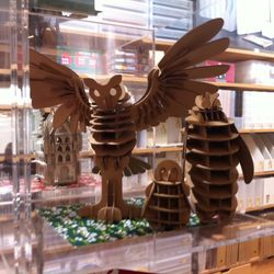 Cool owl thing you can buy and then assemble
