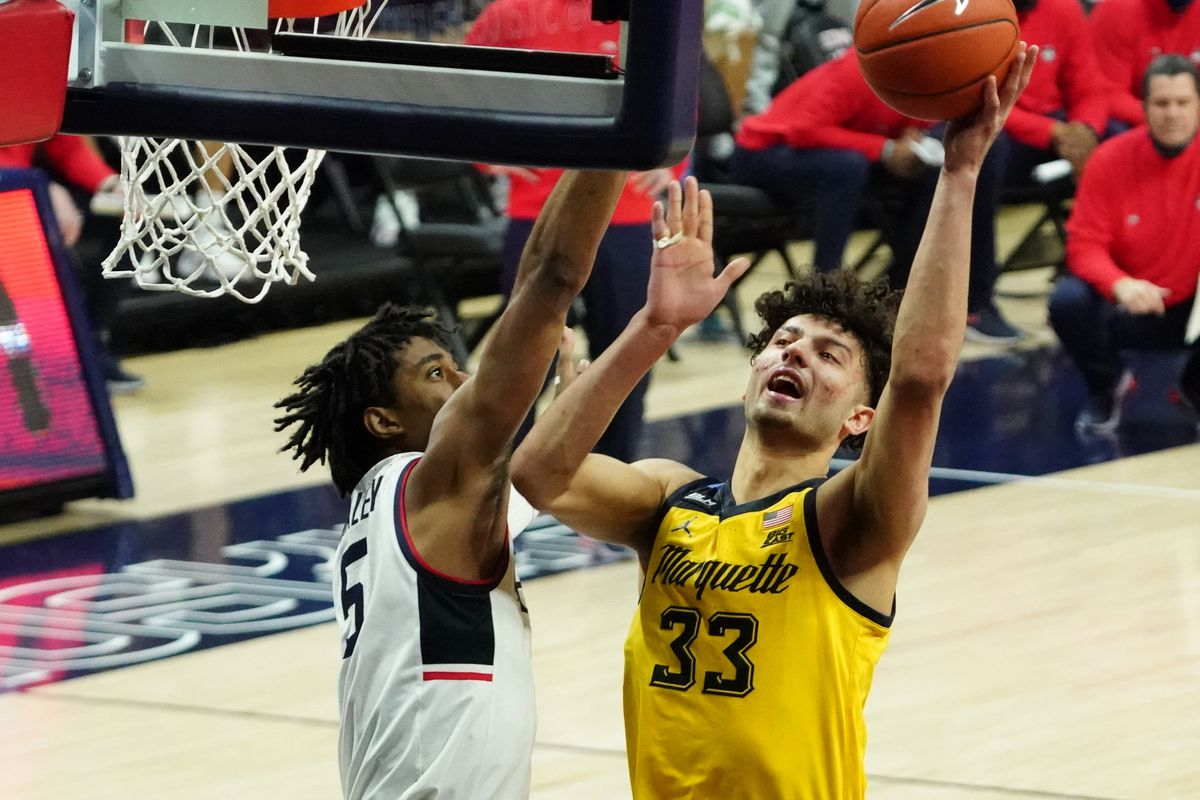 NCAA Basketball: Marquette at Connecticut