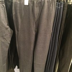 Leather-band knit pants, size S, $79 (was $225)