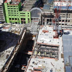 City Creek Construction.  Monday, Aug. 16, 2010.