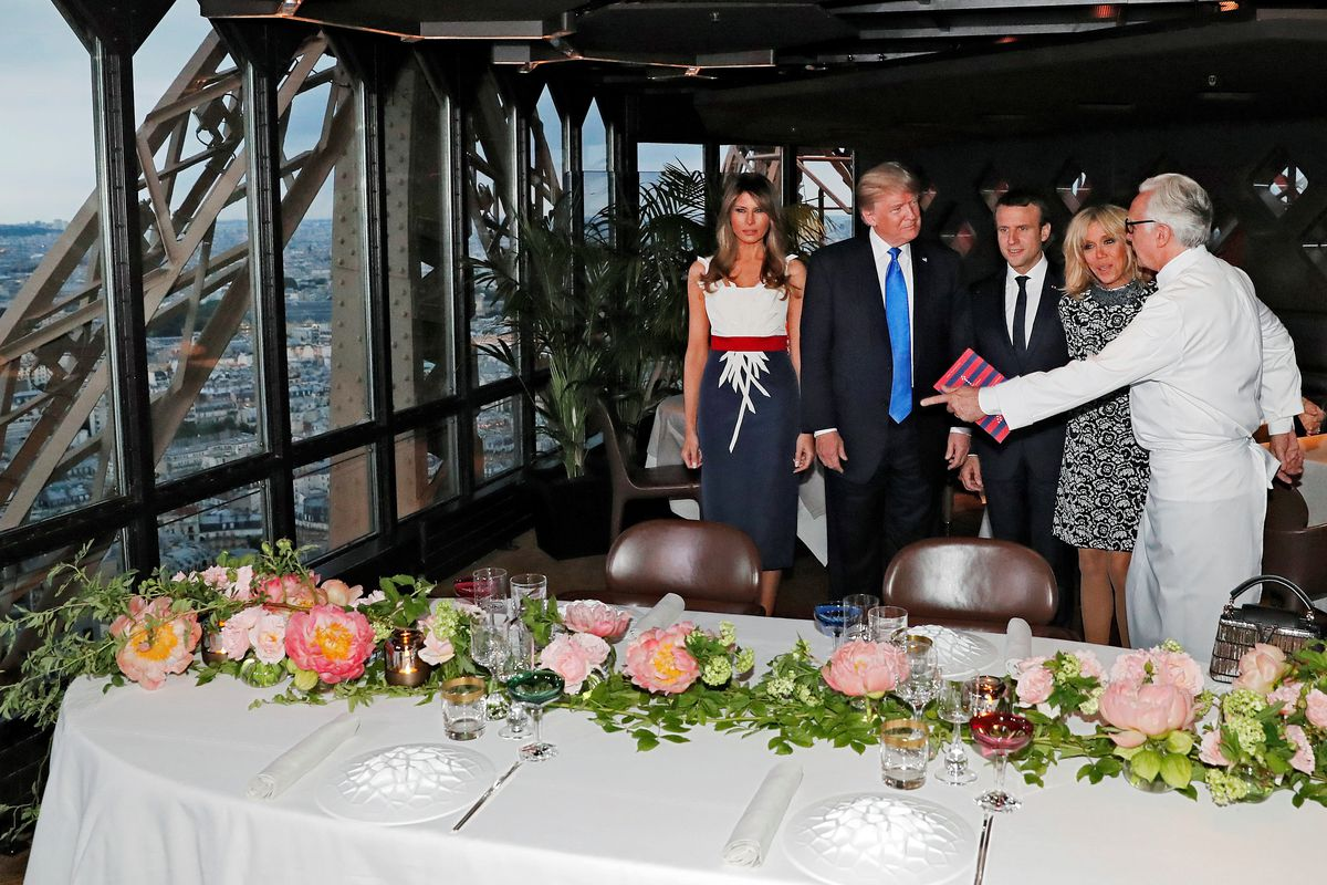 Fast Food Lover Donald Trump Enjoys Michelin Starred Meal
