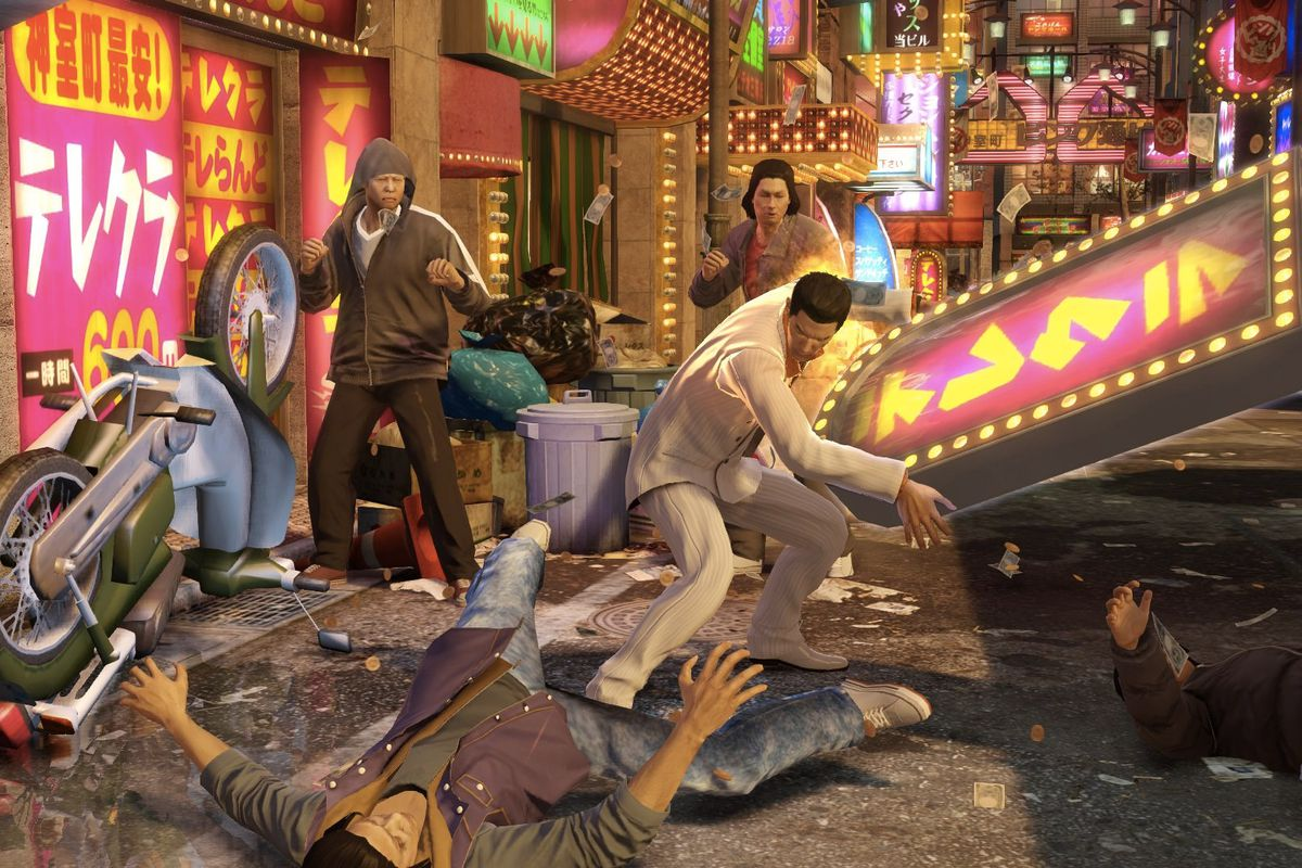 I am living my best life in Yakuza 0 - Polygon