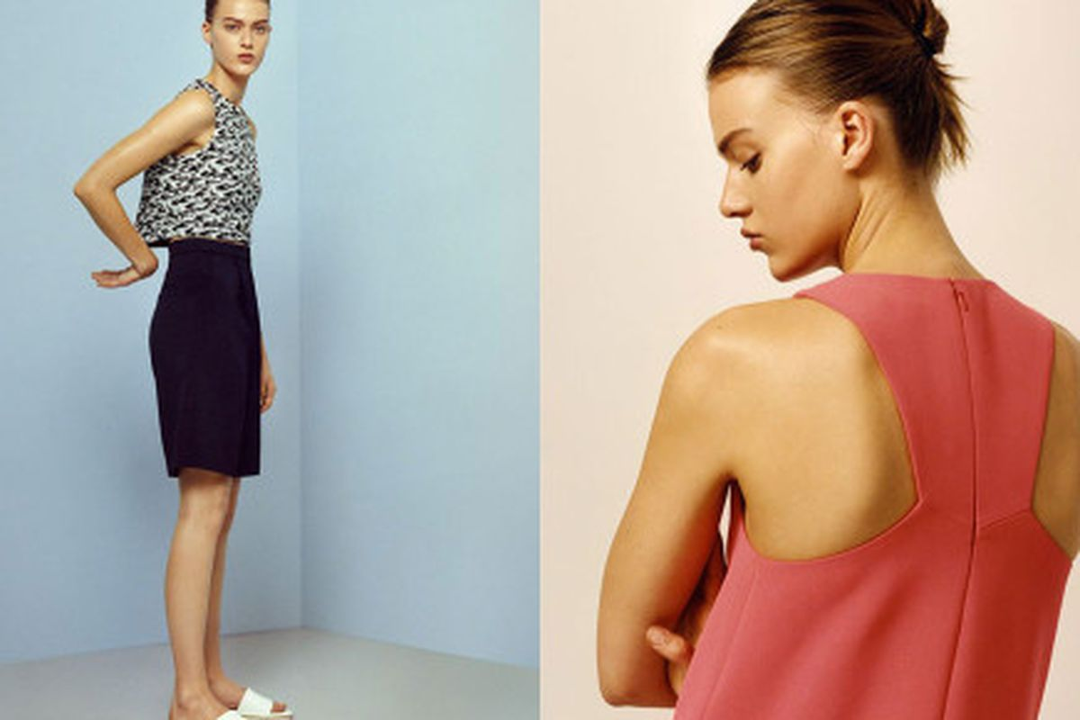 """Looks from the spring/summer 2014 campaign; Images via <a href=""""http://www.businessoffashion.com/2014/05/continuing-international-expansion-whistles-enters-us-bloomingdales.html"""">Business of Fashion</a>"""