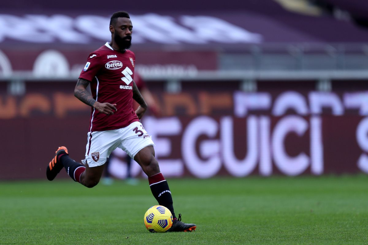 Nicolas N'Koulou of Torino Fc in action during the Serie A...