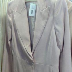 Petal pink blazer, originally $1890, now $567