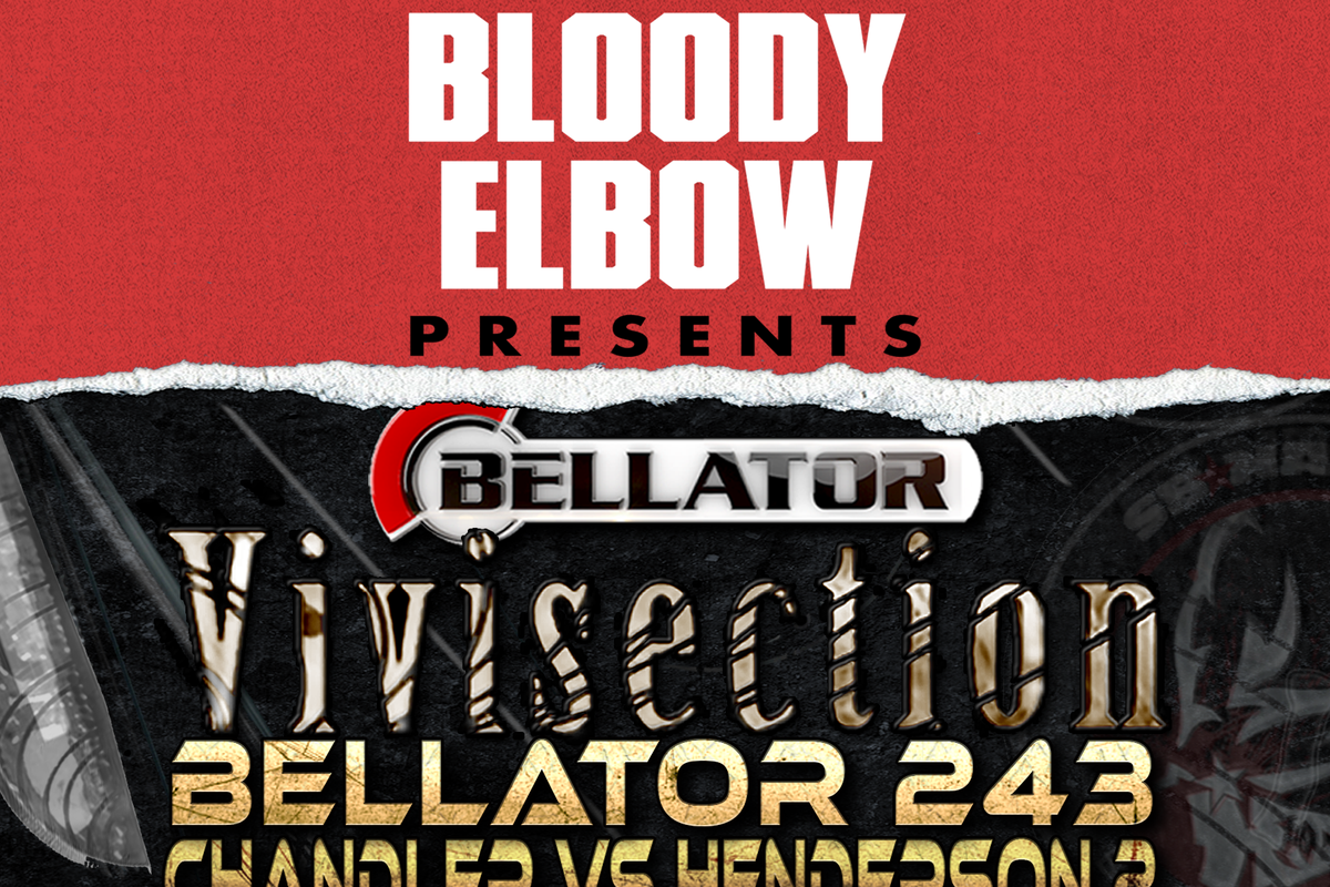 MMA Vivi, The MMA Vivisection, Bellator Preview, Bellator MMA, Bellator 243, Chandler vs Henderson 2 preview, MMA Picks, MMA Analysis, MMA Predictions,