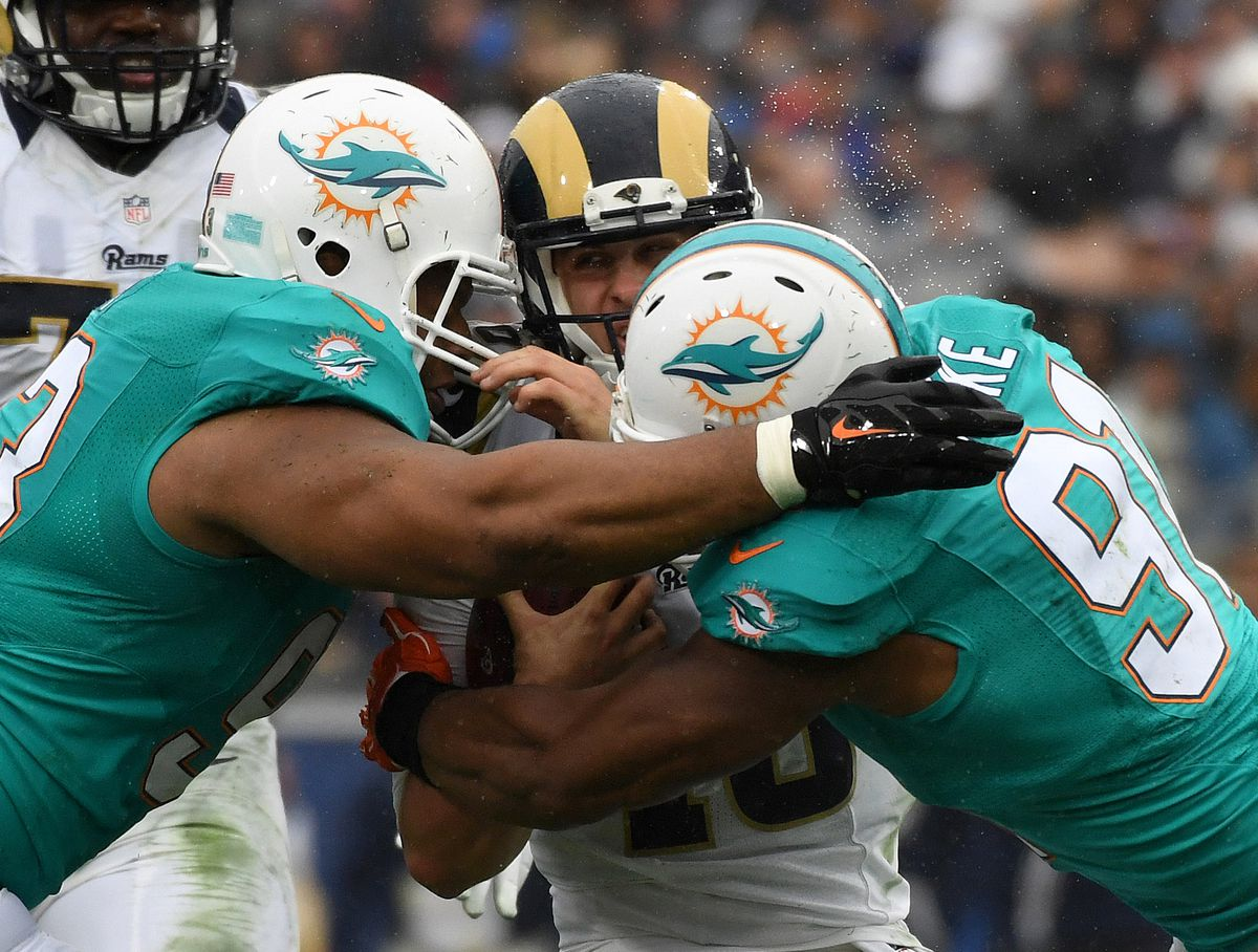 NFL: Miami Dolphins at Los Angeles Rams