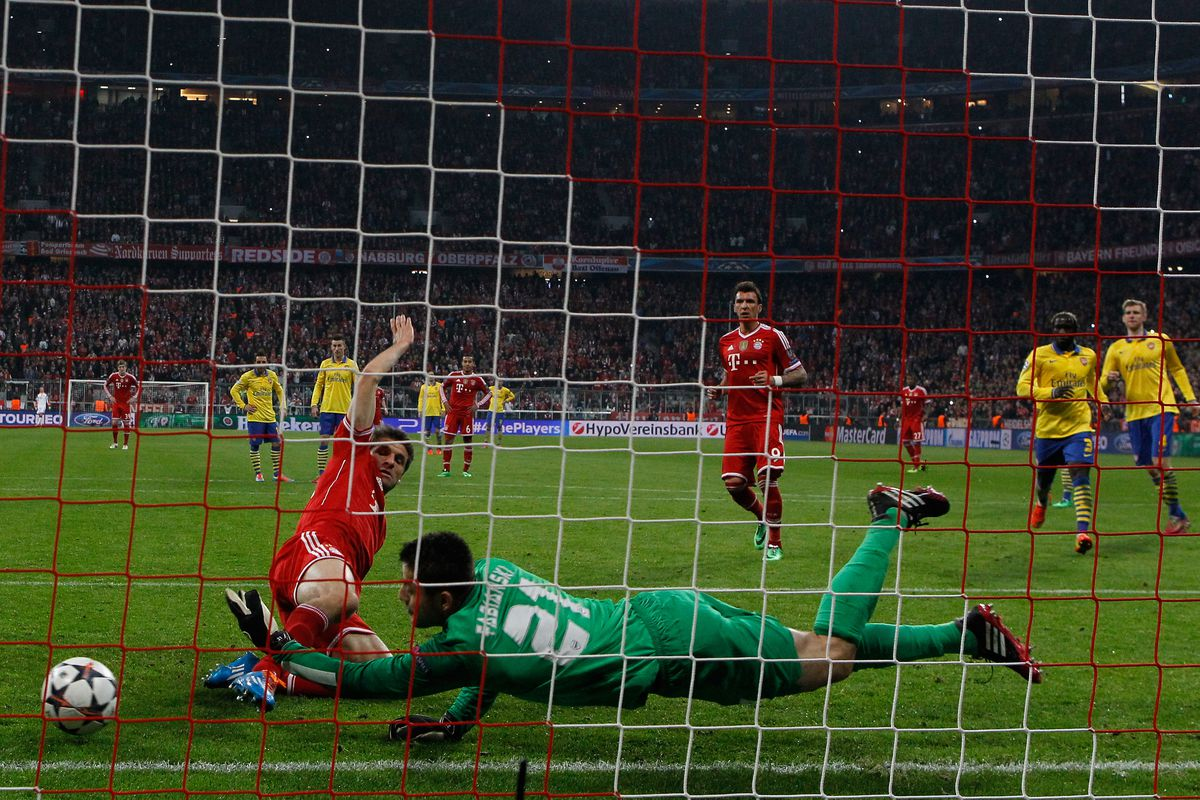 The penalty that didn't go in: Ball don't lie.