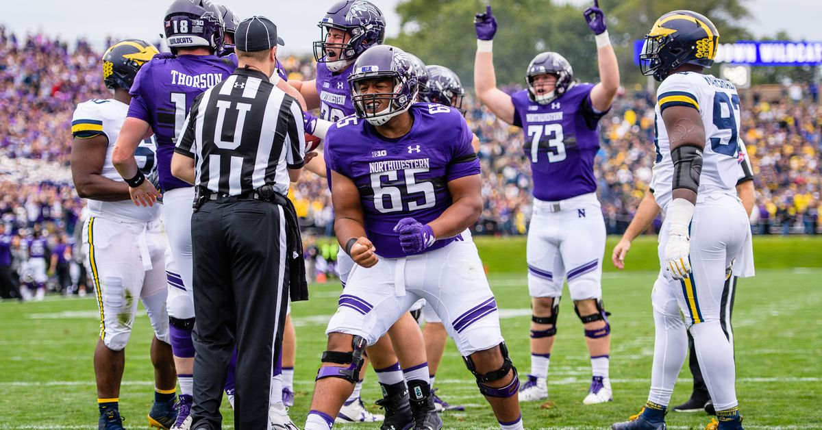 Northwestern Football Position Previews Offensive Line Inside NU