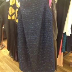 Girl Band of Outsiders purple tweed dress, $149 (was $495)