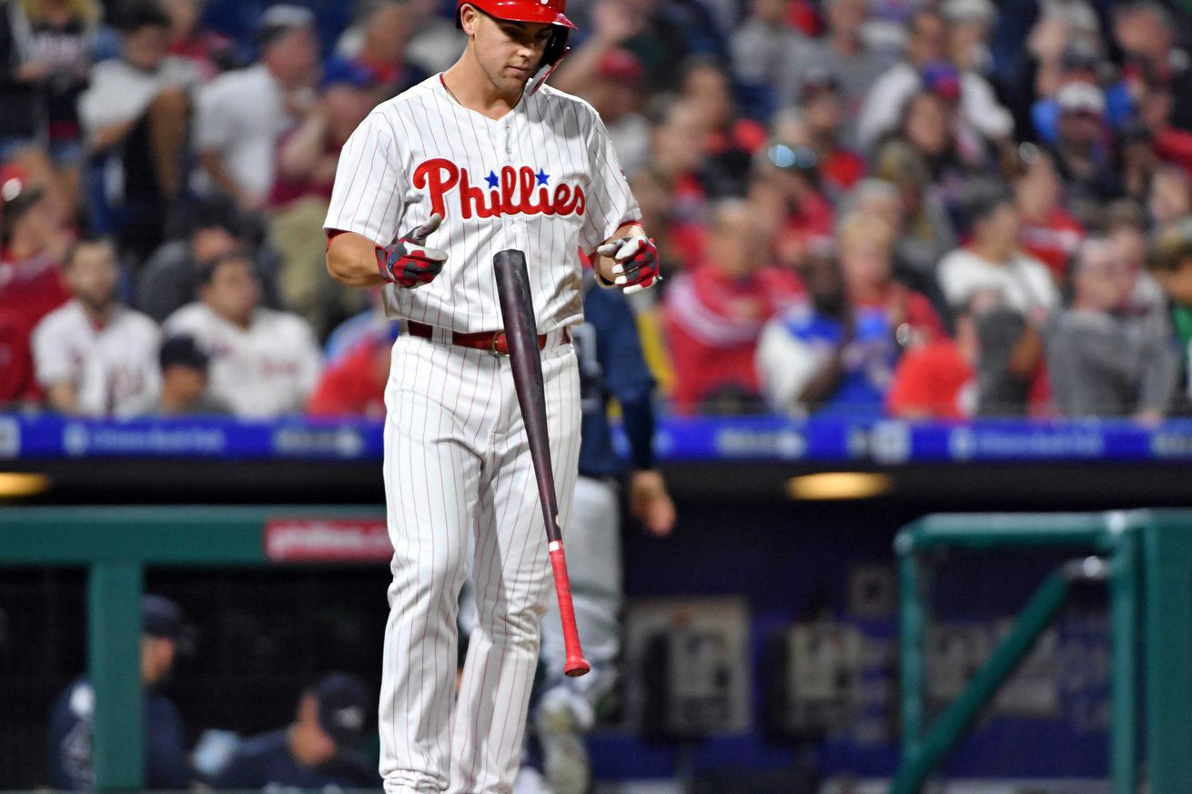 Another failed at bat by Scott Kingery