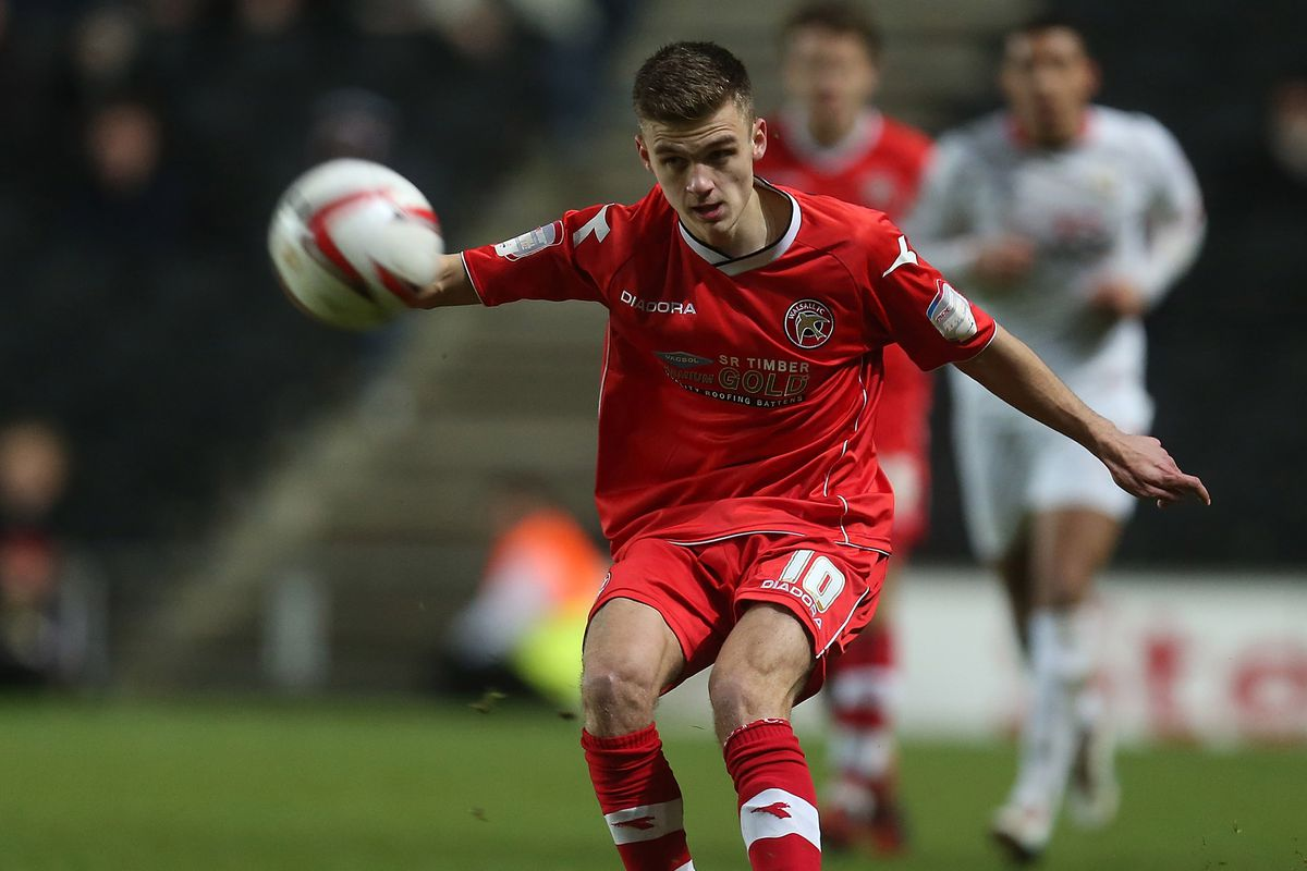 Here's Jamie Paterson in action for Walsall when he was about 9 years old