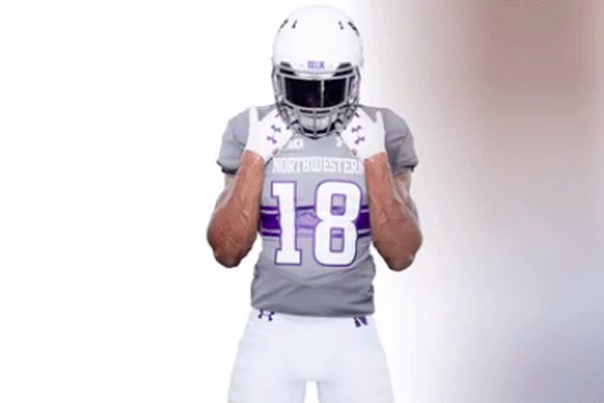 online retailer d8dc9 e8e3c Northwestern announces uniforms for Week 2 matchup vs. Duke ...