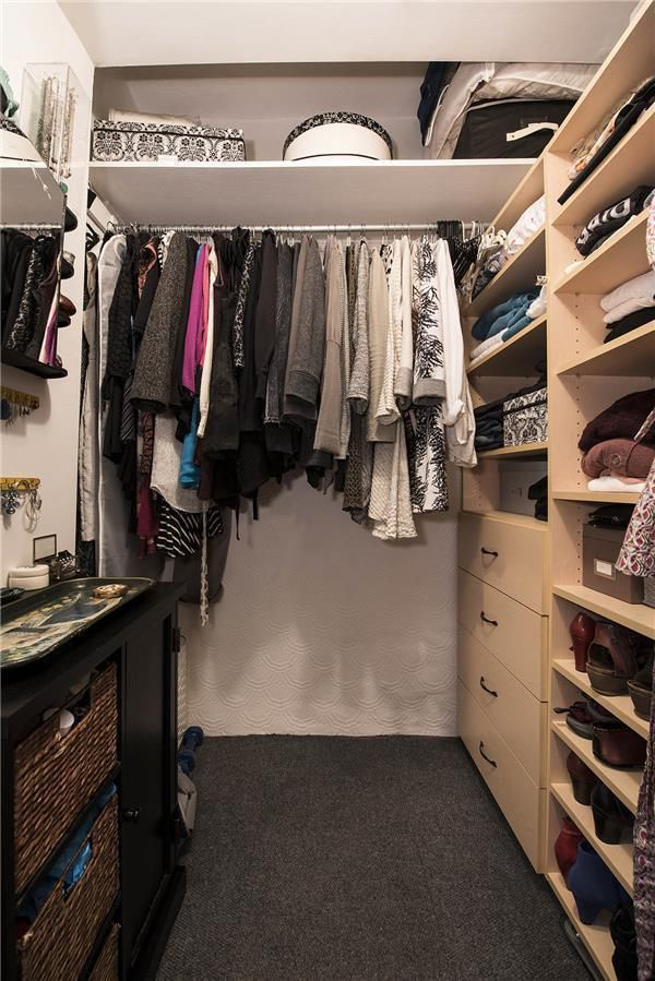 Large Closets upper west side studio with a walk-in closet wants $385,000